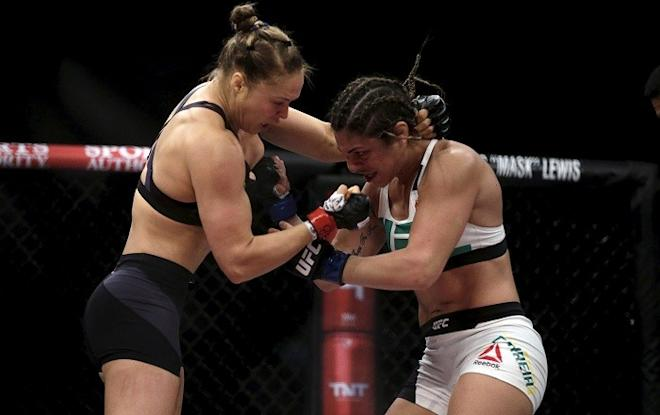 Ronda Rousey, Bethe Correia, UFC, UFC news, Bethe Correia on Ronda Rousey, Correia says Rousey is too vain to accept defeat and start over, Bethe Correia wants a rematch with Rousey