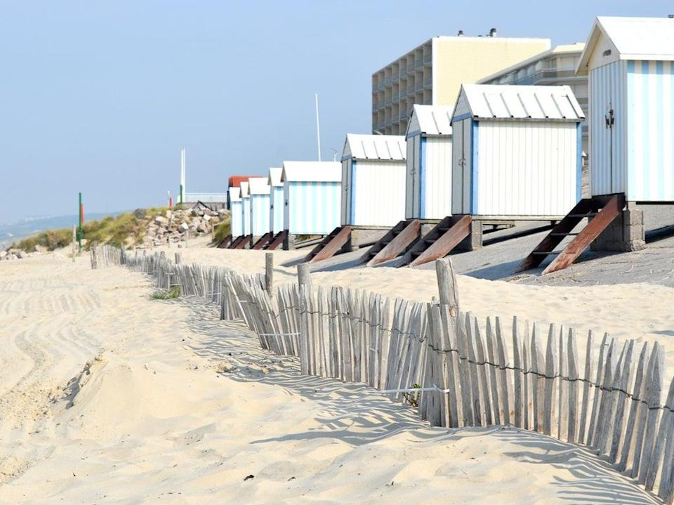 Beach huts on the white sand at Hardelot near Le Touquet   (Getty/iStockphoto)