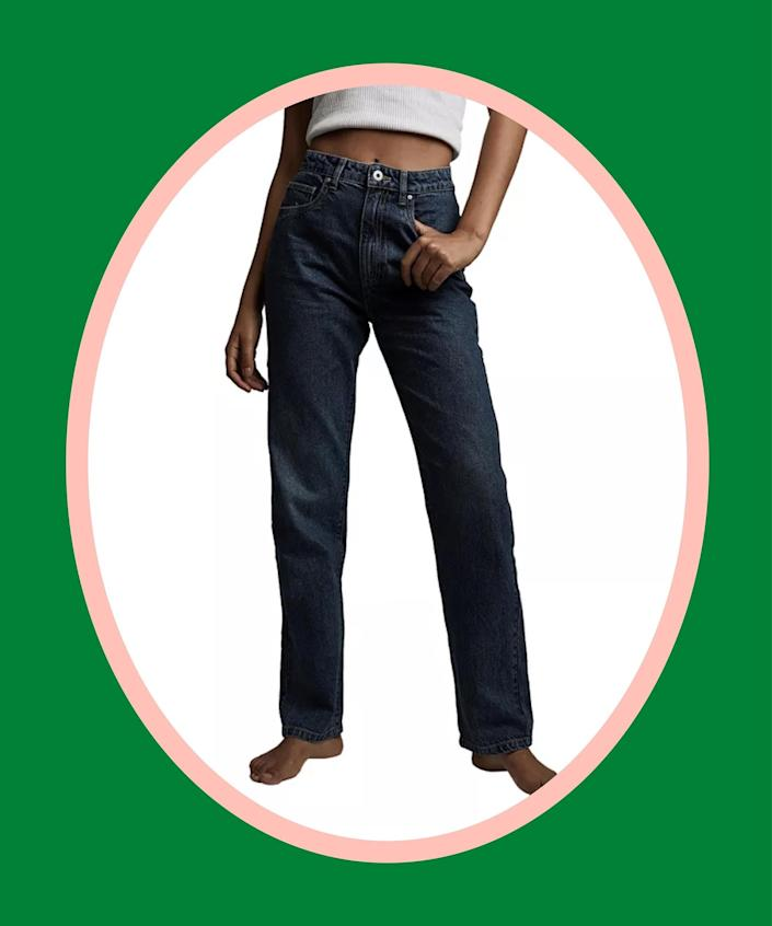 """<br><br><strong>Cotton On</strong> Long Straight Jeans, $, available at <a href=""""https://go.skimresources.com/?id=30283X879131&url=https%3A%2F%2Fwww.macys.com%2Fshop%2Fproduct%2Fwomens-long-straight-jeans%3FID%3D12163667%26tdp%3Dcm_app%7EzMCOM-NAVAPP%7Excm_zone%7EzPDP_ZONE_B%7Excm_choiceId%7EzcidM06MNK-18076dbe-47d1-4585-a0e0-b360f48aaa27%2540H8%2540customers%252Balso%252Bloved%252428754%252412163667%7Excm_pos%7EzPos8%7Excm_srcCatID%7Ez28754"""" rel=""""nofollow noopener"""" target=""""_blank"""" data-ylk=""""slk:Macy's"""" class=""""link rapid-noclick-resp"""">Macy's</a>"""