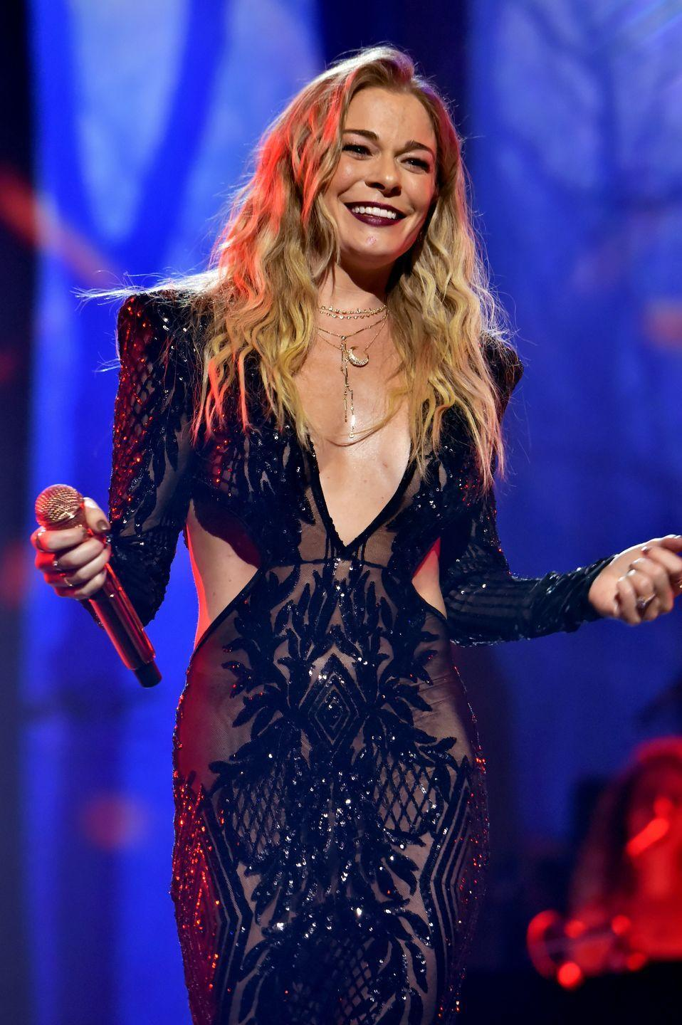 """<p>Eight-year-old LeAnn Rimes <a href=""""https://www.youtube.com/watch?v=_WGvlT8Zb-k"""" rel=""""nofollow noopener"""" target=""""_blank"""" data-ylk=""""slk:held her ground for several weeks"""" class=""""link rapid-noclick-resp"""">held her ground for several weeks</a> in the competition, with her big hair, big voice and big personality. A few years later, this powerhouse crooned her way into our hearts with her hit song """"Blue"""" in 1996.</p>"""