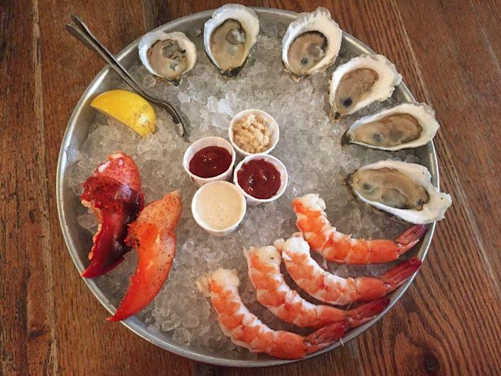 """<p><strong><a href=""""https://www.yelp.com/biz/thames-street-oyster-house-baltimore"""" rel=""""nofollow noopener"""" target=""""_blank"""" data-ylk=""""slk:Thames Street Oysters"""" class=""""link rapid-noclick-resp"""">Thames Street Oysters</a>, Baltimore</strong></p><p>""""I loved coming to Thames. Years ago, I tried to make reservations and they were booked to capacity. Completely understandable as the restaurant is a little small but the food is out of this world."""" — Yelp user <a href=""""https://www.yelp.com/user_details?userid=3n5UEZtP96GBNpRXNF0QNA"""" rel=""""nofollow noopener"""" target=""""_blank"""" data-ylk=""""slk:Bell A."""" class=""""link rapid-noclick-resp"""">Bell A.</a></p><p>Photo: Yelp/<a href=""""https://www.yelp.com/user_details?userid=OlOJ_XLKGfxqFOSiO5inDg"""" rel=""""nofollow noopener"""" target=""""_blank"""" data-ylk=""""slk:Jennifer L."""" class=""""link rapid-noclick-resp"""">Jennifer L.</a></p>"""