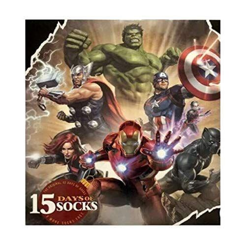 """<p><strong>Marvel</strong></p><p>amazon.com</p><p><strong>$49.99</strong></p><p><a href=""""https://www.amazon.com/dp/B08155F1XQ?tag=syn-yahoo-20&ascsubtag=%5Bartid%7C10055.g.29429168%5Bsrc%7Cyahoo-us"""" rel=""""nofollow noopener"""" target=""""_blank"""" data-ylk=""""slk:Shop Now"""" class=""""link rapid-noclick-resp"""">Shop Now</a></p><p>We've got good news and bad news for the <a href=""""https://www.goodhousekeeping.com/life/entertainment/g29023076/marvel-movies-mcu-in-order/"""" rel=""""nofollow noopener"""" target=""""_blank"""" data-ylk=""""slk:Marvel man"""" class=""""link rapid-noclick-resp"""">Marvel man</a>: These socks are like a spidey suit for your feet, but they won't help you scale walls. With 15 socks in all, the box has all of the big players and a few more under-the-radar choices for the super fan. </p>"""