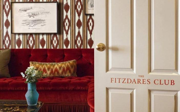 The new Fitzdares Club in Mayfair