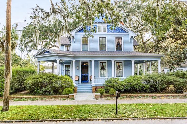 see the prettiest pastel homes around the u s
