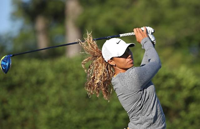 27-year-old Cheyenne Woods has enjoyed a superb playing year though she has not won a tournament (AFP Photo/Leon Halip)