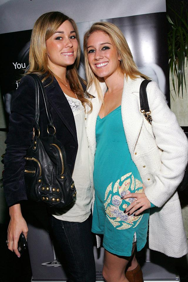 "Will Lauren and Heidi ever be BFFs again? I guess we'll find out next season on ""The Hills."" Michael Bezjian/<a href=""http://www.wireimage.com"" target=""new"">WireImage.com</a> - December 18, 2006"