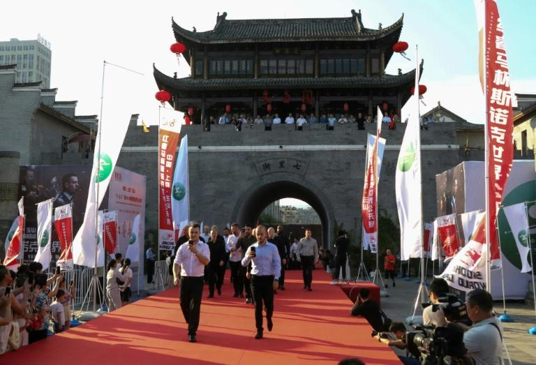 Yushan County rolled out the red carpet for players at the World Open snooker tournament in August