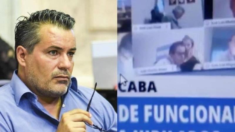 Argentinian MP resigns after kissing girlfriend