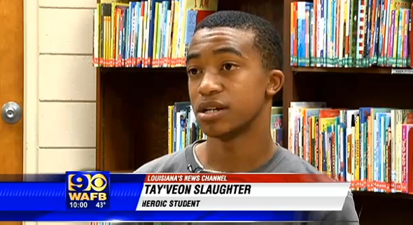 Heroic teen prevents bus crash after driver knocked unconscious