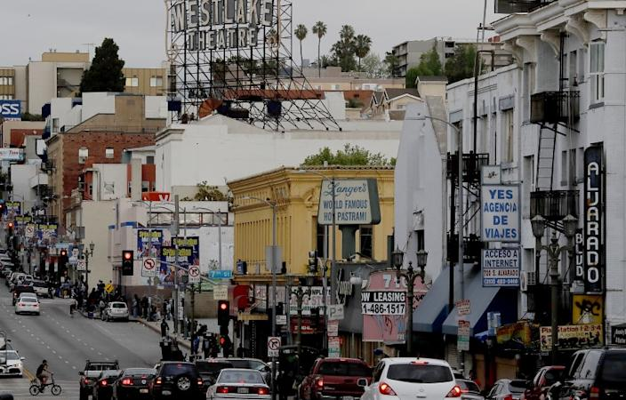 "The Westlake neighborhood of Los Angeles has some the most crowded housing in the country, a Times analysis found. <span class=""copyright"">(Luis Sinco / Los Angeles Times)</span>"