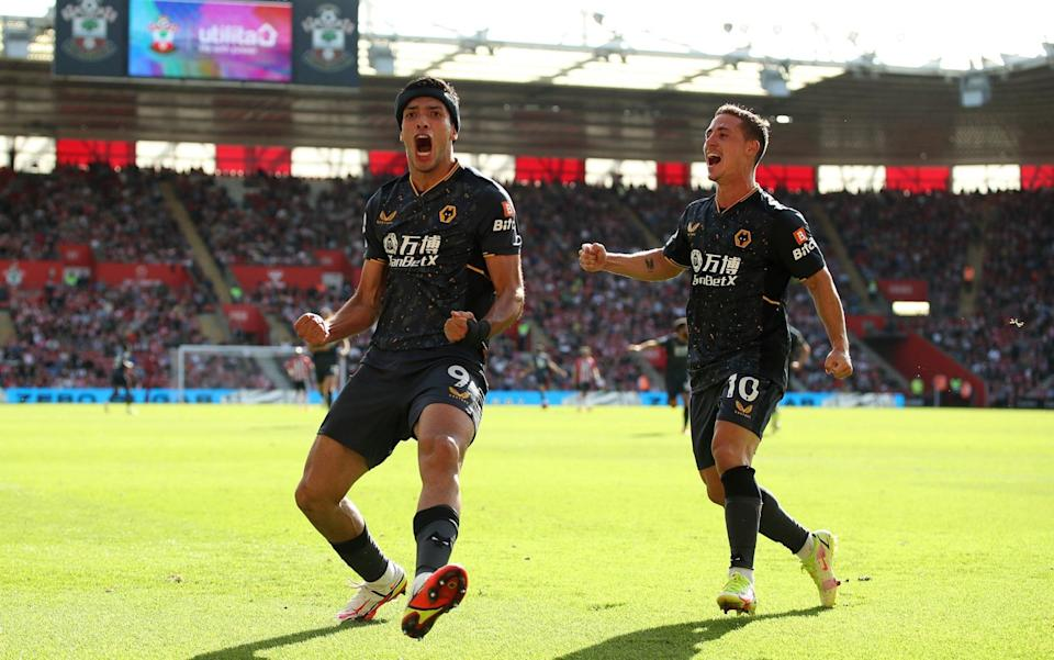 Jimenez's last goal for Wolves came in October 2020 - GETTY IMAGES