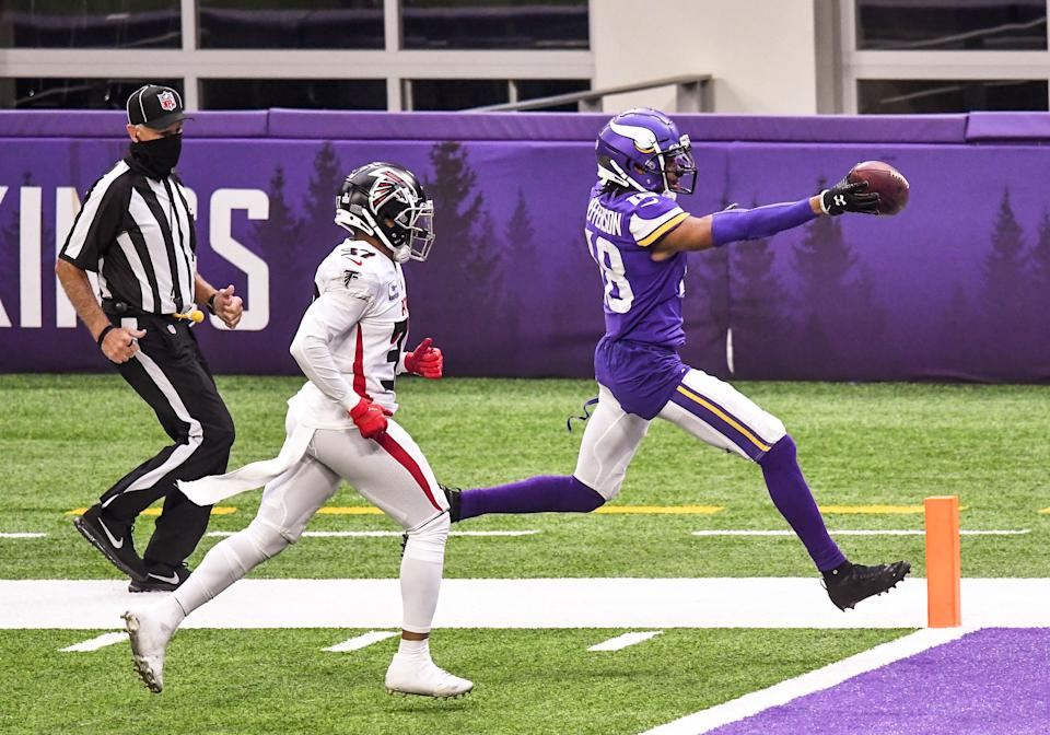 Minnesota Vikings wide receiver Justin Jefferson was targeted on nearly a quarter of his routes last season. (Nick Wosika/USA TODAY Sports)