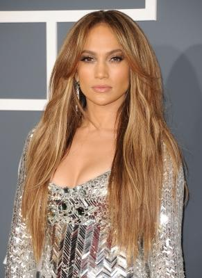 Jennifer Lopez arrives at The 53rd Annual Grammy Awards held at Staples Center in Los Angeles on February 13, 2011 -- Getty Premium