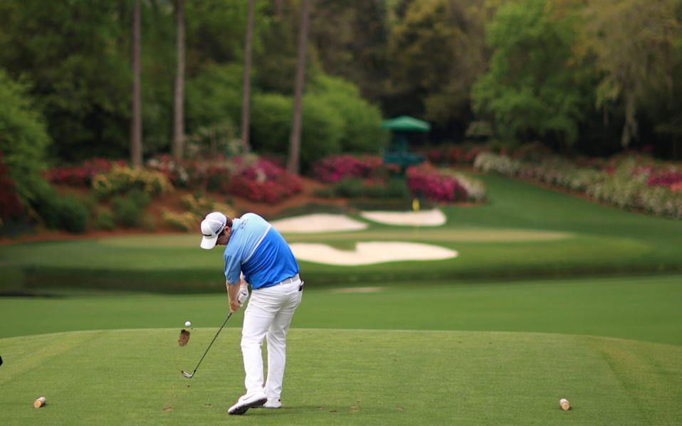 MacIntyre on the iconic 12th - GETTY IMAGES