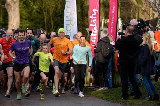 parkrun has seen a number of celebrities such as Dame Jessica Ennis-Hill take part