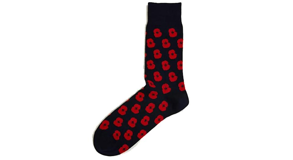 Poppy Cotton Socks