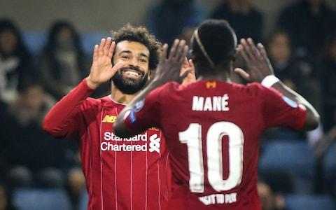 Will Mohamed Salah and Sadio Mane cause Man City problems on Sunday? - Credit: AFP