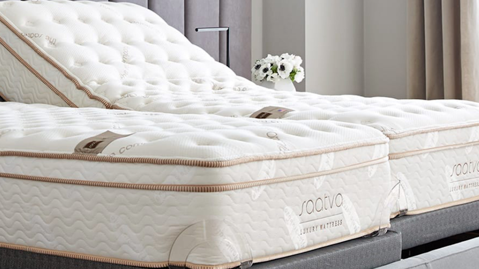 Saatva lets you customize your preferred mattress height and firmness to get the mattress that works for you.