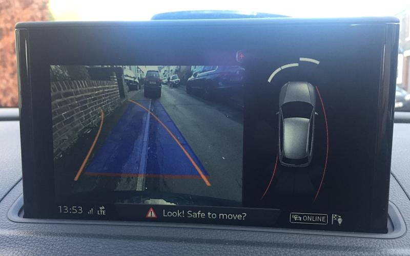 Audi A3 long-term test - reversing camera