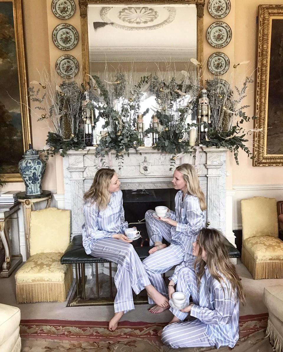 Three sisters in their matching Asceno PJs. Nothing quite like it.