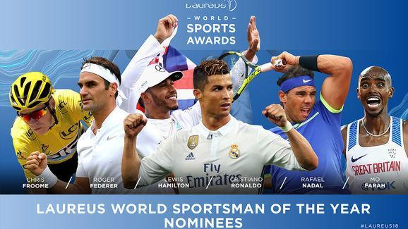 ​Real Madrid superstar Cristiano Ronaldo has been nominated for the 'Laureus World Sportsman Of The Year' award in recognition of his achievements over the last 12 months. Always previously won by individuals rather than those from team sport backgrounds, the Laureus World Sports Awards harness the power of sport to promote social change, and celebrate sporting excellence from the previous calendar year. Ronaldo is nominated alongside cyclist Tour de France winner Chris Froome, Gram Slam...