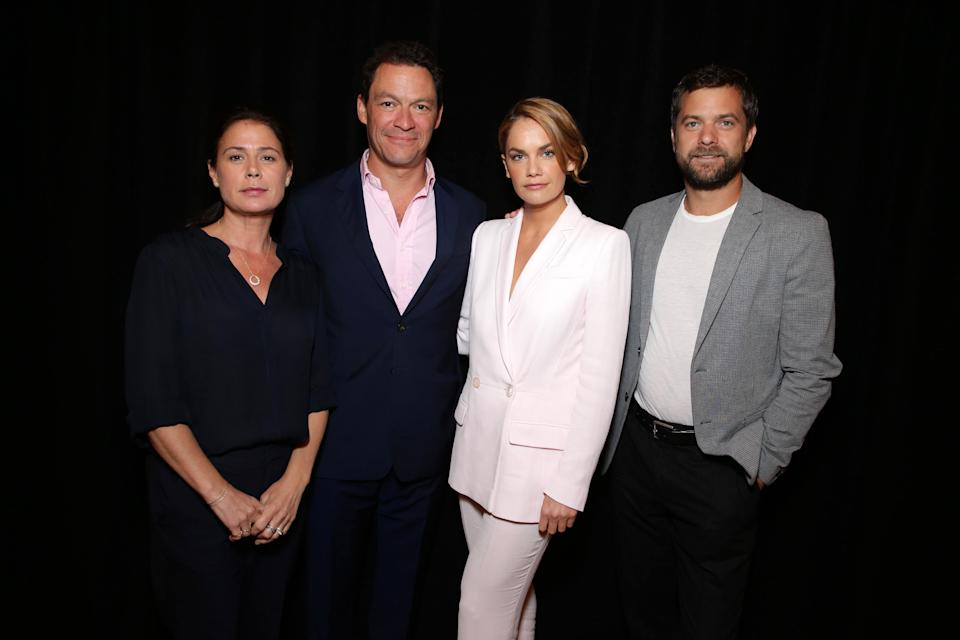 Maura Tierney, Dominic West, Ruth Wilson and Joshua Jackson starred in The Affair together. (Photo: AP)