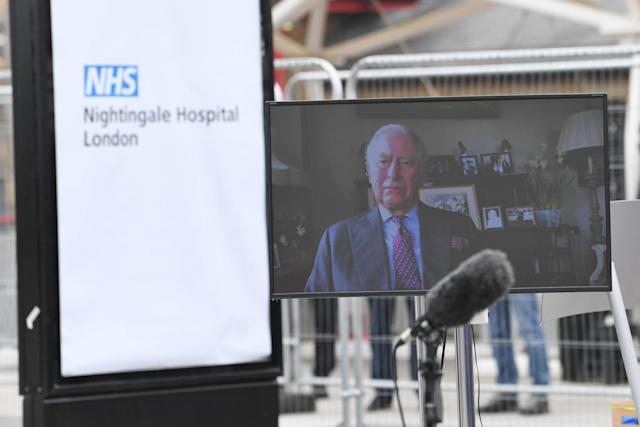 Prince Charles opened the hospital on Friday (PA)