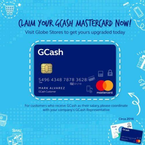 how to get gcash card