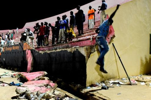 Senegal football club suspended after stadium tragedy