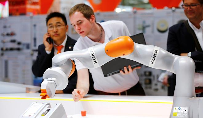 Midea paid US$5 billion to take over German robot maker Kuka in In late 2016. Photo: Reuters