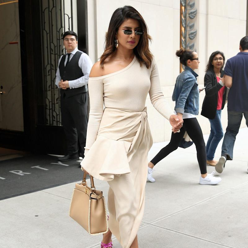 Nick Who? Priyanka Chopra's Little White Dress Alternative is Headline News In Itself