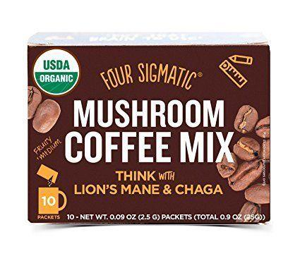 "This is exactly what it sounds like: coffee mixed with mushroom extracts. It supposedly gives you the caffeine you need, without the jitters or the caffeine crash.<br /><strong>Price: <a href=""https://www.amazon.com/Four-Sigmatic-Mushroom-Coffee-Concentration/dp/B00ZWA7LQ4/r"" target=""_blank"">$10</a></strong>"