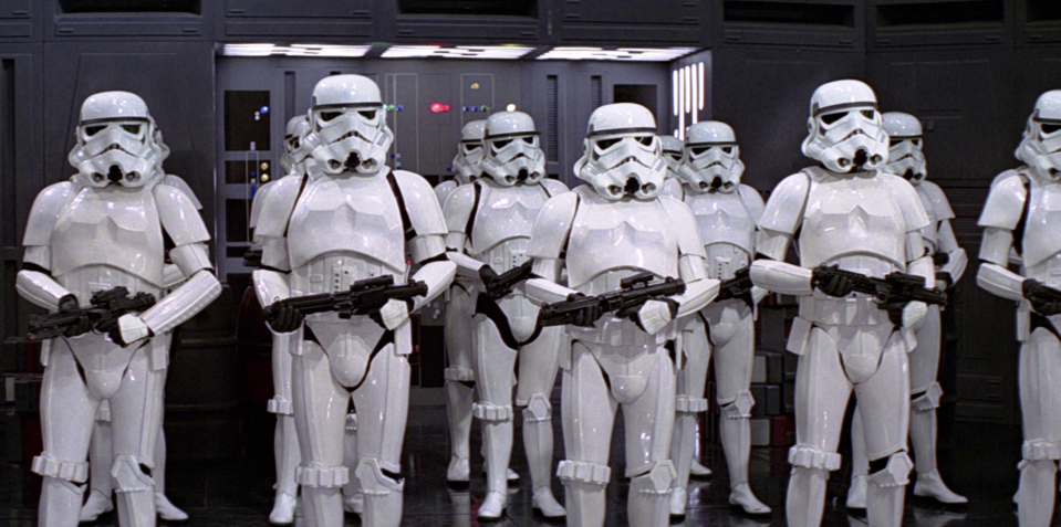 Is the culprit in this Star Wars line-up? (credit: LucasFilm)