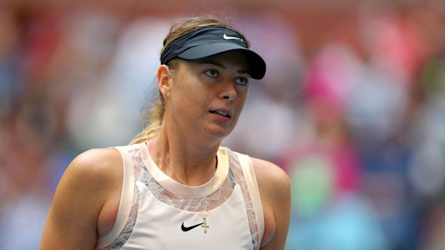 An unspecified injury, thought to be pain in her forearms, has caused Maria Sharapova pull out of the Dubai Tennis Championships.