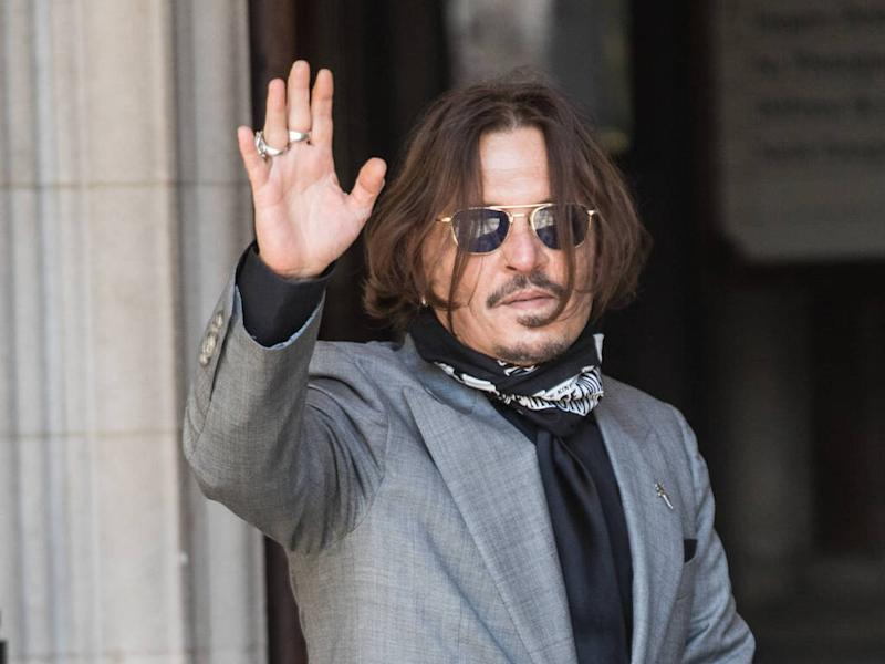 Johnny Depp requests delay to defamation trial for Fantastic Beasts 3 filming