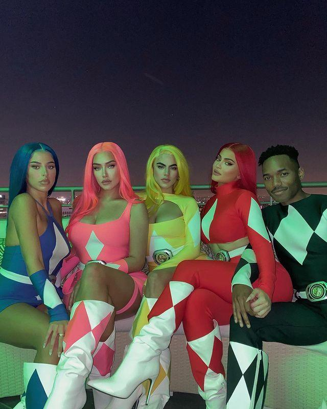 """<p>The make-up mogul was joined by friends to form the full Power Ranger squad, with BFF Anastasia Karanikolaou taking on the pink Power Ranger whilst the rest of the crew worked blue, yellow and black.</p><p><a href=""""https://www.instagram.com/p/CG9Qv3gjdOQ/"""" rel=""""nofollow noopener"""" target=""""_blank"""" data-ylk=""""slk:See the original post on Instagram"""" class=""""link rapid-noclick-resp"""">See the original post on Instagram</a></p>"""