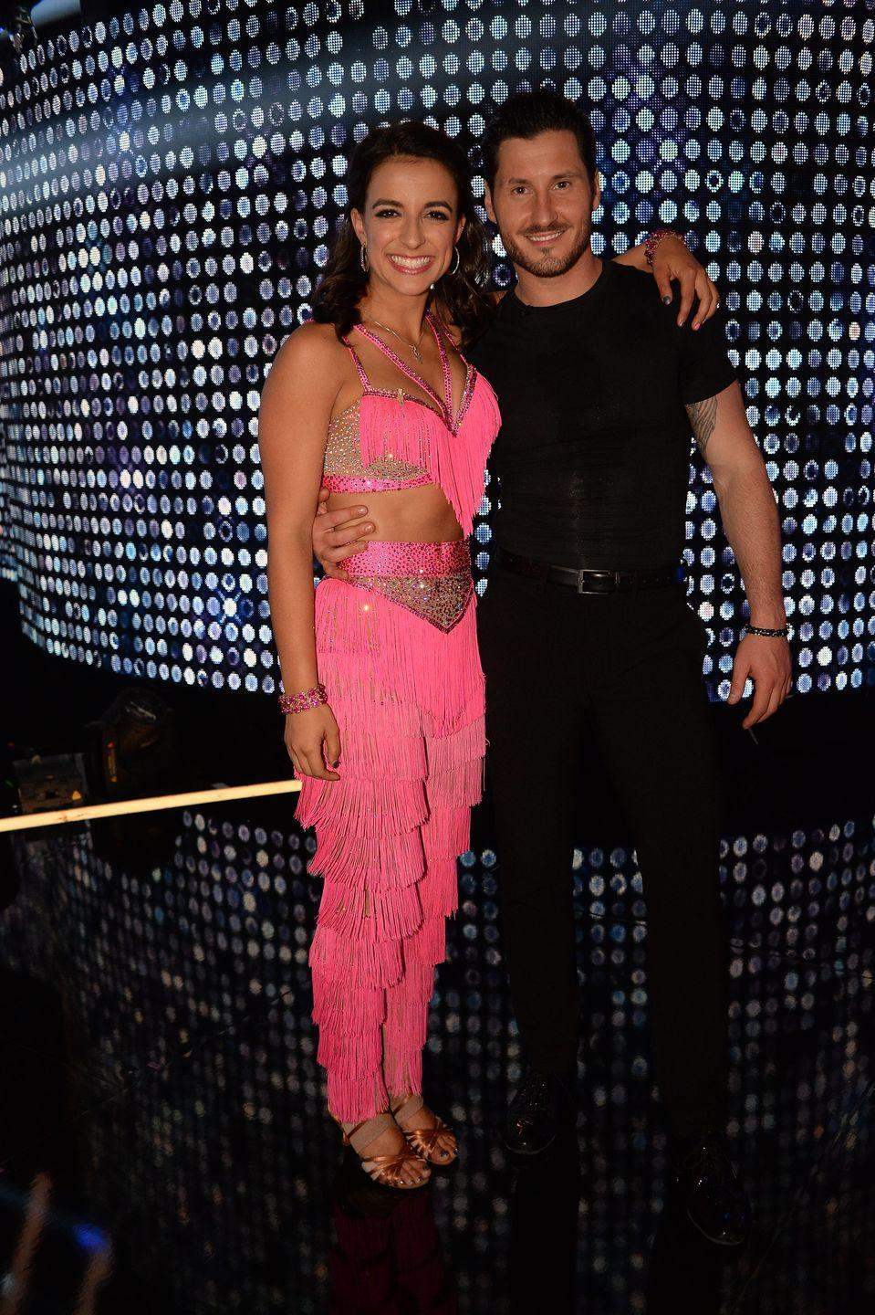"<p>The entire right side of Victoria's body went into spasm while rehearsing with her pro partner Val Chmerkovskiy in season 25, <em><a href=""https://people.com/tv/victoria-arlen-suffers-painful-dwts-injury/"" rel=""nofollow noopener"" target=""_blank"" data-ylk=""slk:People"" class=""link rapid-noclick-resp"">People</a></em> reported. This wasn't the worst Victoria had ever faced: An autoimmune disease and neurological condition left her in a vegetative state in childhood. </p><p>Luckily, Victoria bounced back from her <em>DWTS</em> injury. ""I definitely didn't feel as strong as I felt in dress before the spasm,"" Victoria told co-host Tom Bergeron on camera. ""But kind of overcoming that … getting out of that scared mindset really helped me kind of go out there. It wasn't as good as it could have been, but given the circumstances, I'm very happy with it.""</p>"