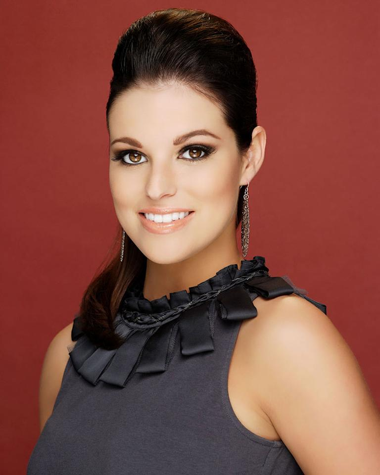 """Miss Kansas, Carissa Kelley is a contestant in the """"<a href=""""/2012-miss-america-pageant/show/48165"""">2012 Miss America Pageant</a>."""""""
