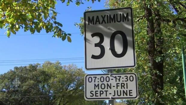 Rideau-Vanier Coun. Mathieu Fleury wants residential streets in Lowertown, Vanier and Sandy Hill to have a 30 km/h speed limit. He'll be bringing a report to the city's transportation committee on Wednesday. (CBC - image credit)