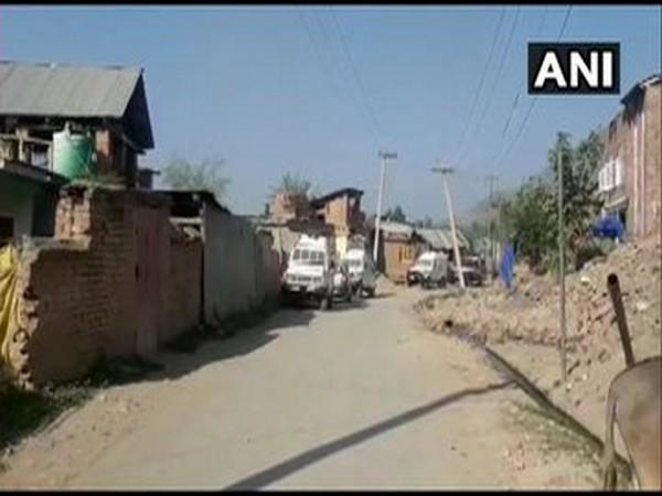 An image from the encounter site in Anantnag. [Photo/ANI]