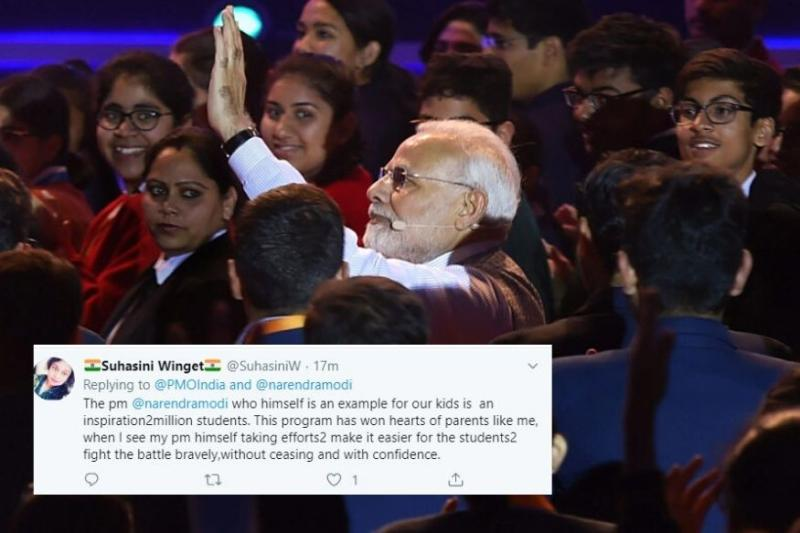 PM Modi's '#Withoutfilter' Speech at Pariksha Pe Charcha 2020 Wins the Internet