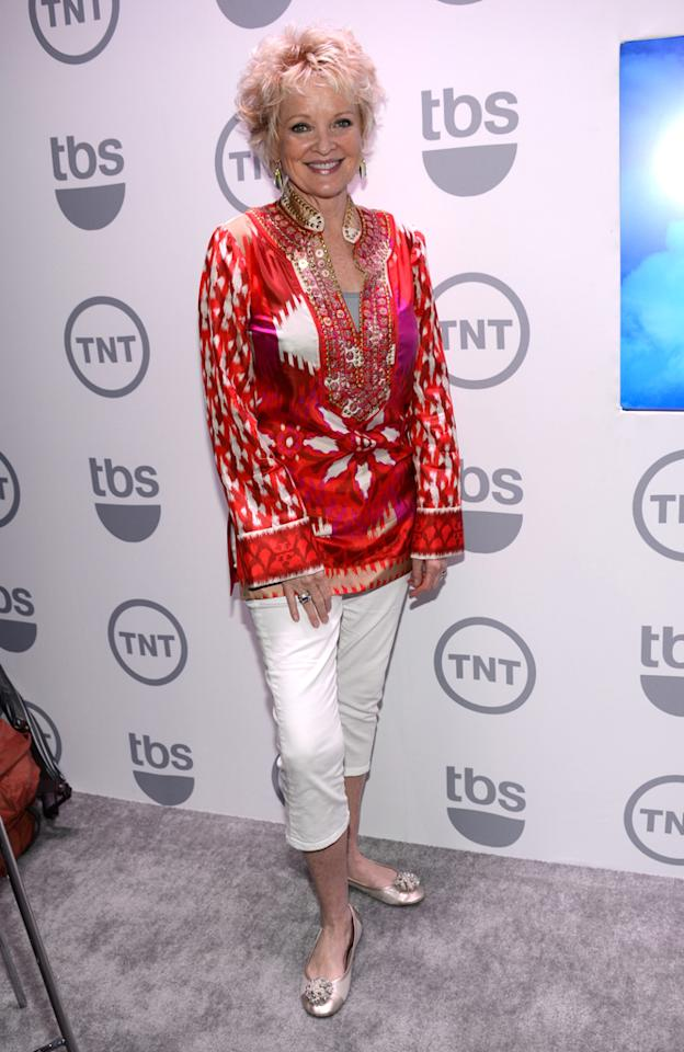 """Christine Ebersole (""""Sullivan and Son"""") attends the TNT/TBS 2012 Upfront Presentation at Hammerstein Ballroom on May 16, 2012 in New York City."""