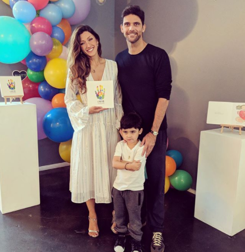 The couple already have a four-year-old son and are based in San Diego in the US. Photo: Instagram/Silvana Philippoussis