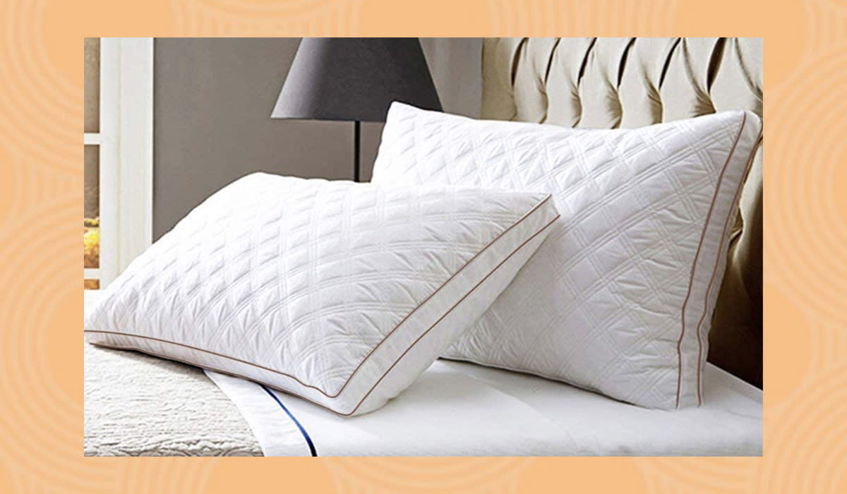Supportive and soothing, like a good bedmate should be. (Photo: Amazon)