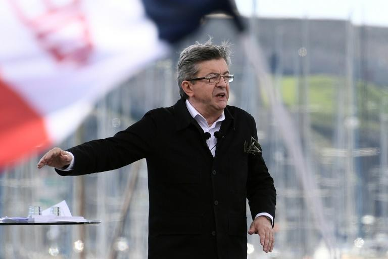 Leftist Melenchon surges as French election candidates bicker