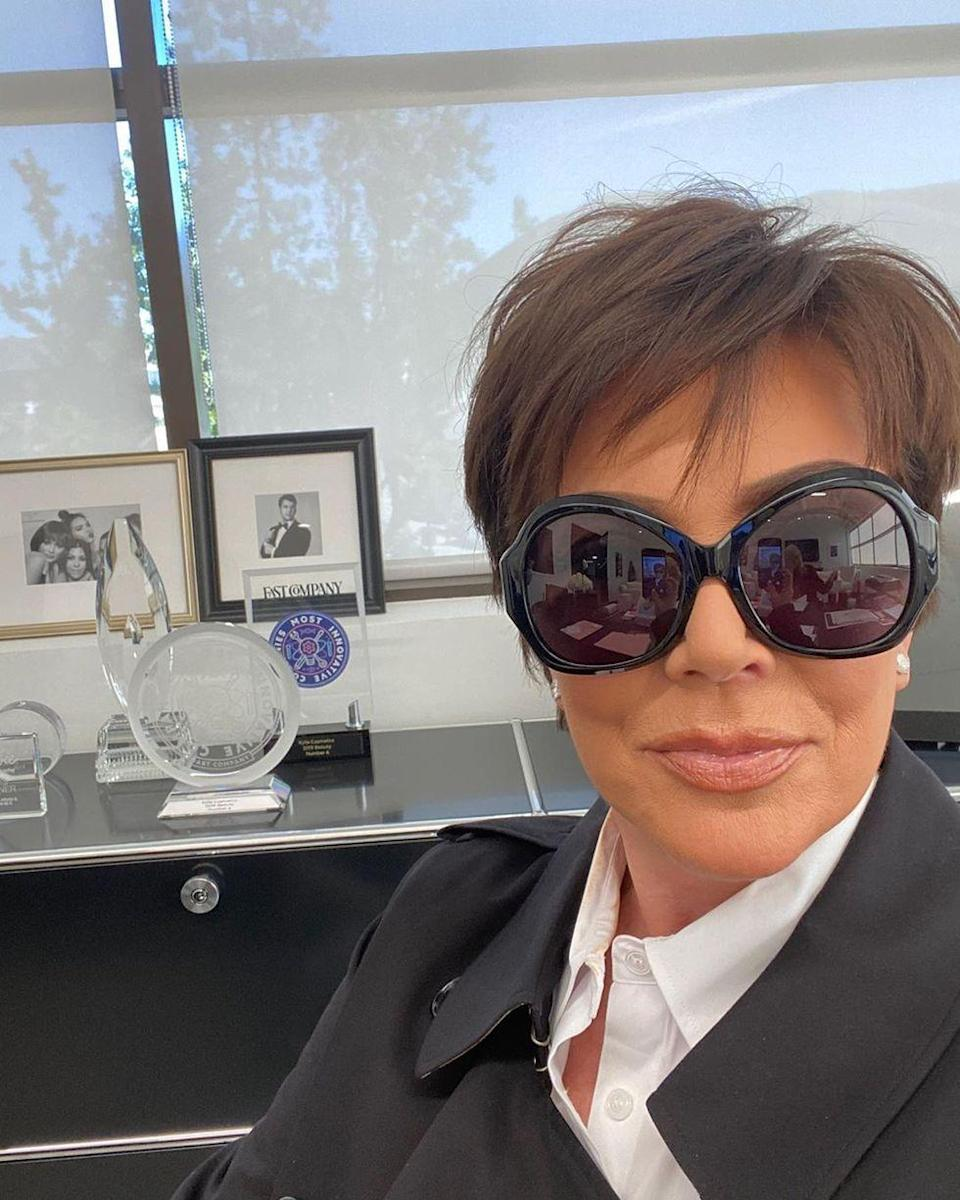 """<p>Kris basically has full creative control of the show, and according to an <a href=""""https://okmagazine.com/photos/kuwtk-producers-secrets-behind-the-scenes/"""" rel=""""nofollow noopener"""" target=""""_blank"""" data-ylk=""""slk:OK! magazine"""" class=""""link rapid-noclick-resp""""><em>OK!</em> magazine</a> source, she's the only family member who can review the taped footage: """"There are no exceptions and she can nix anything she doesn't like.""""</p>"""
