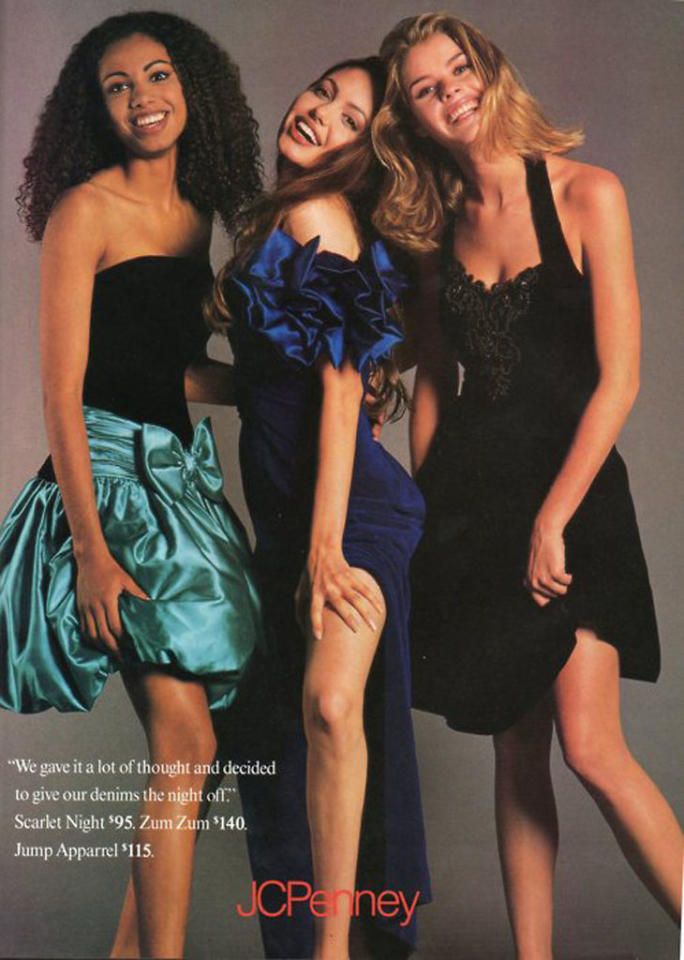 """<strong>Angelina Jolie</strong><br><br> Was Angelina Jolie ever not gorgeous? By the looks of this JC Penney prom ad featuring the then 17-year-old wearing a slinky gown, the star never had to worry about an awkward teen phase.<br><br><br><a target=""""_blank"""" href=""""http://www.snakkle.com/galleries/before-they-were-famous-stars-famous-actor-celebrities-as-models-then-and-now/"""">See More Stars as Models at Snakkle.com</a>"""