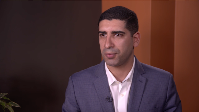 Retired Army Capt. Florent Groberg. (Photo: Yahoo News Video)