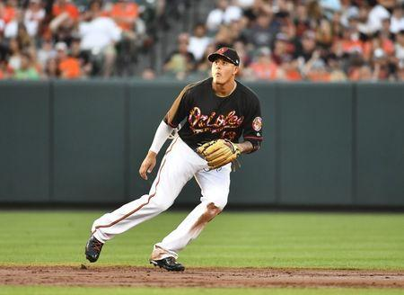 MLB: Texas Rangers at Baltimore Orioles