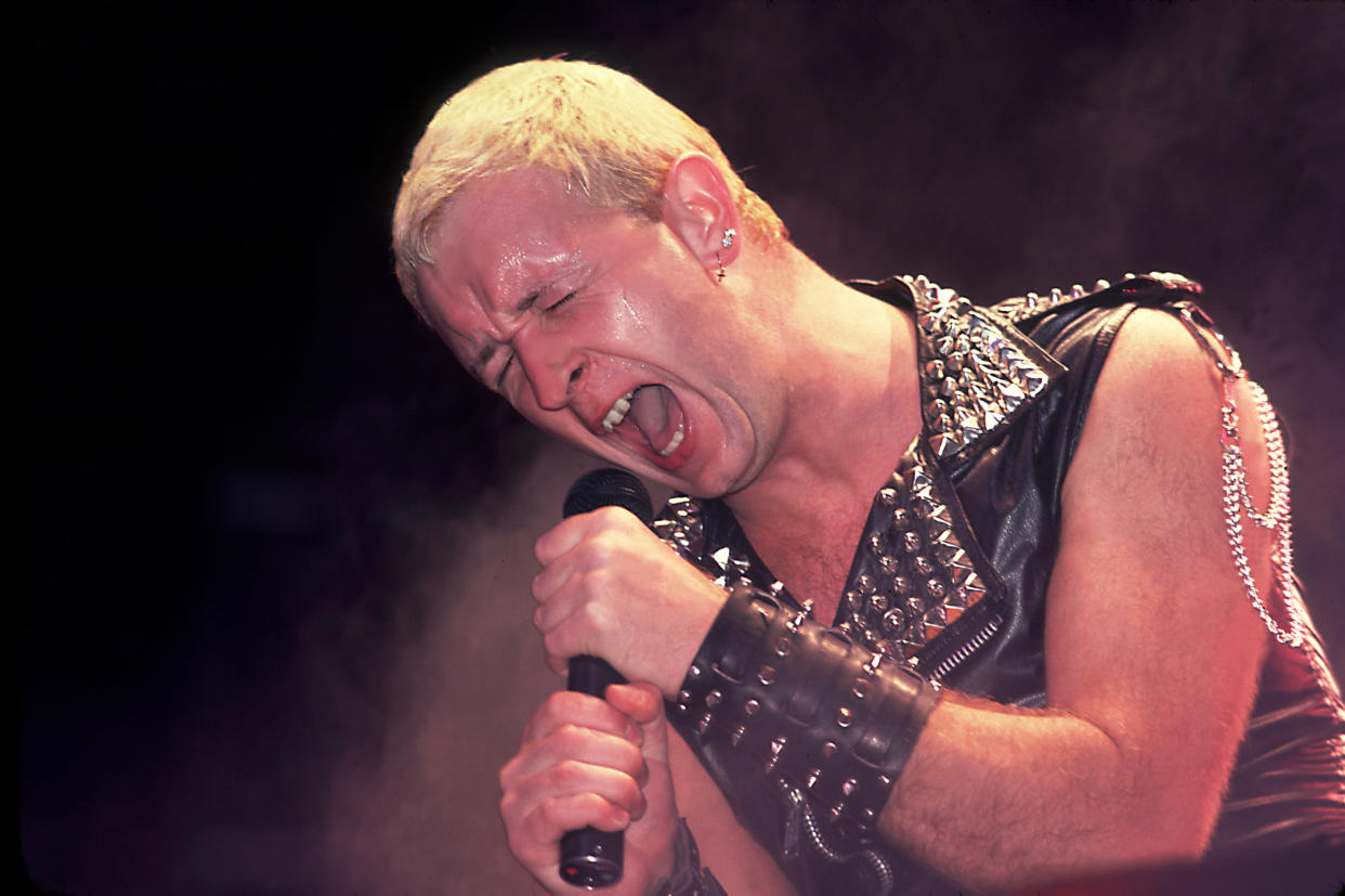 Rob Halford in 1982. (Photo: Paul Natkin/WireImage)